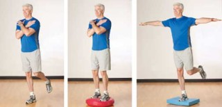 Balance exercise for sport injury at Kuty Chiropractic
