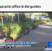 Chiropractic Office in the Garden on the News